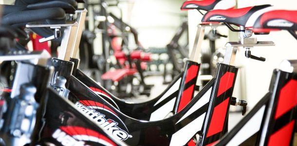 Innovative Watt Bike at Virgin Active Health Club