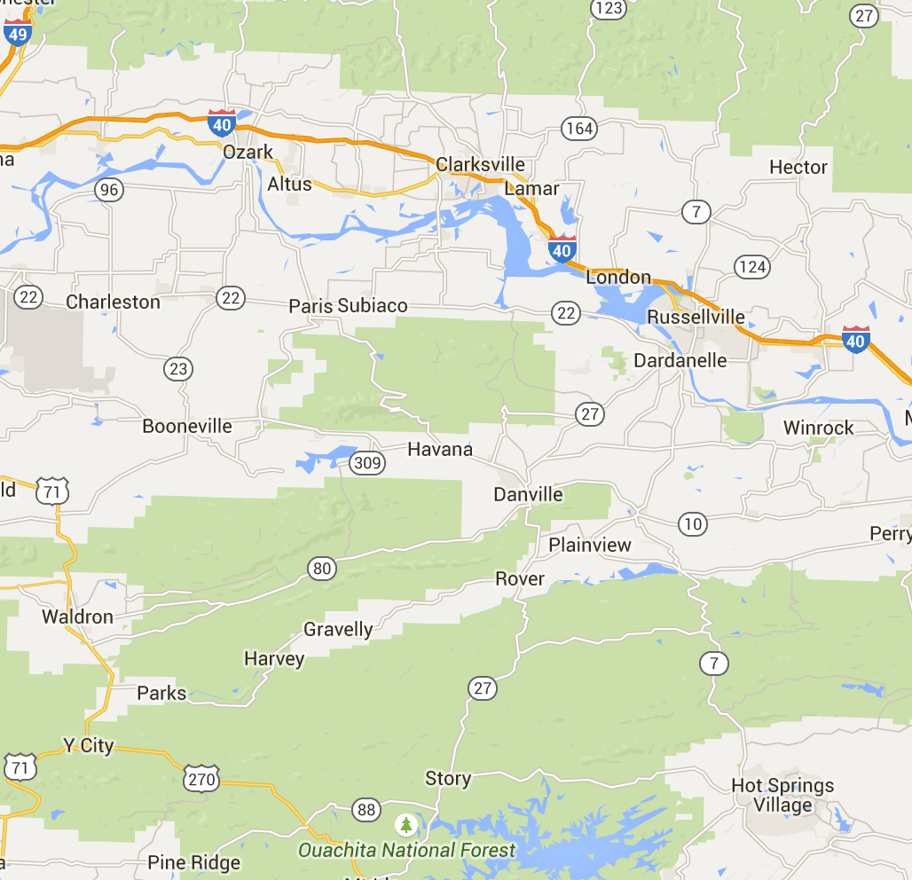 Ozark-St. Francis National Forests - Moccasin Gap Horse Trail | Our ...