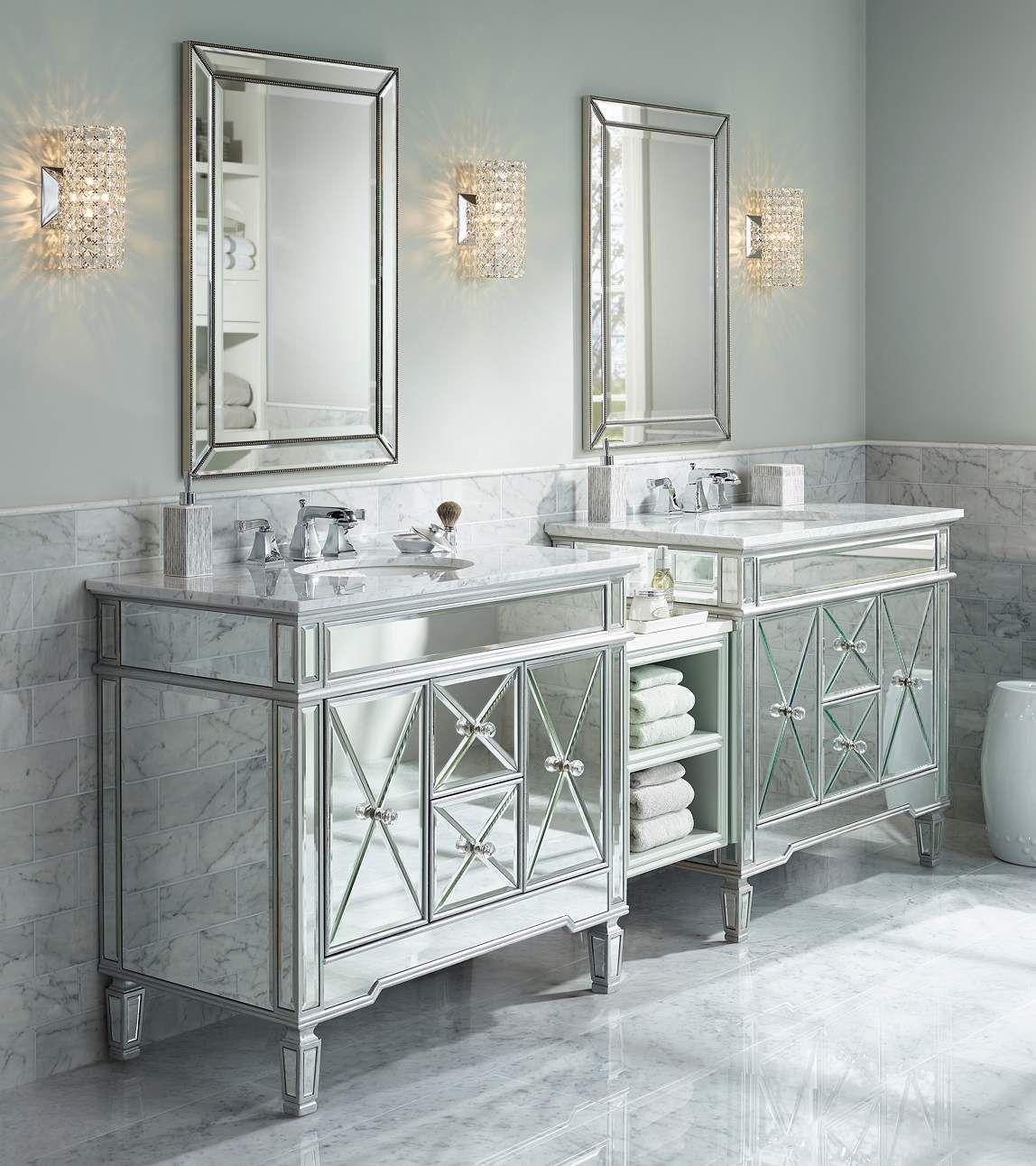 "Crystal Cylinder 10 1/4"" High Wall Sconce - #Y6859 | Lamps ... on Crystal Bathroom Sconces id=65538"