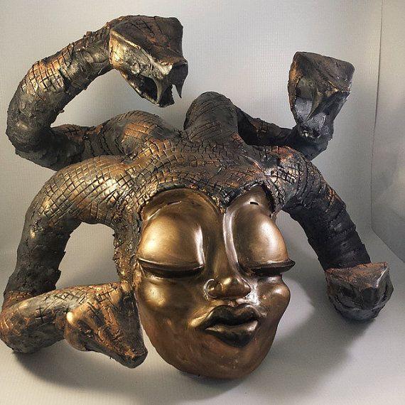 Teen Angst Medusa by MattASculptures on Etsy
