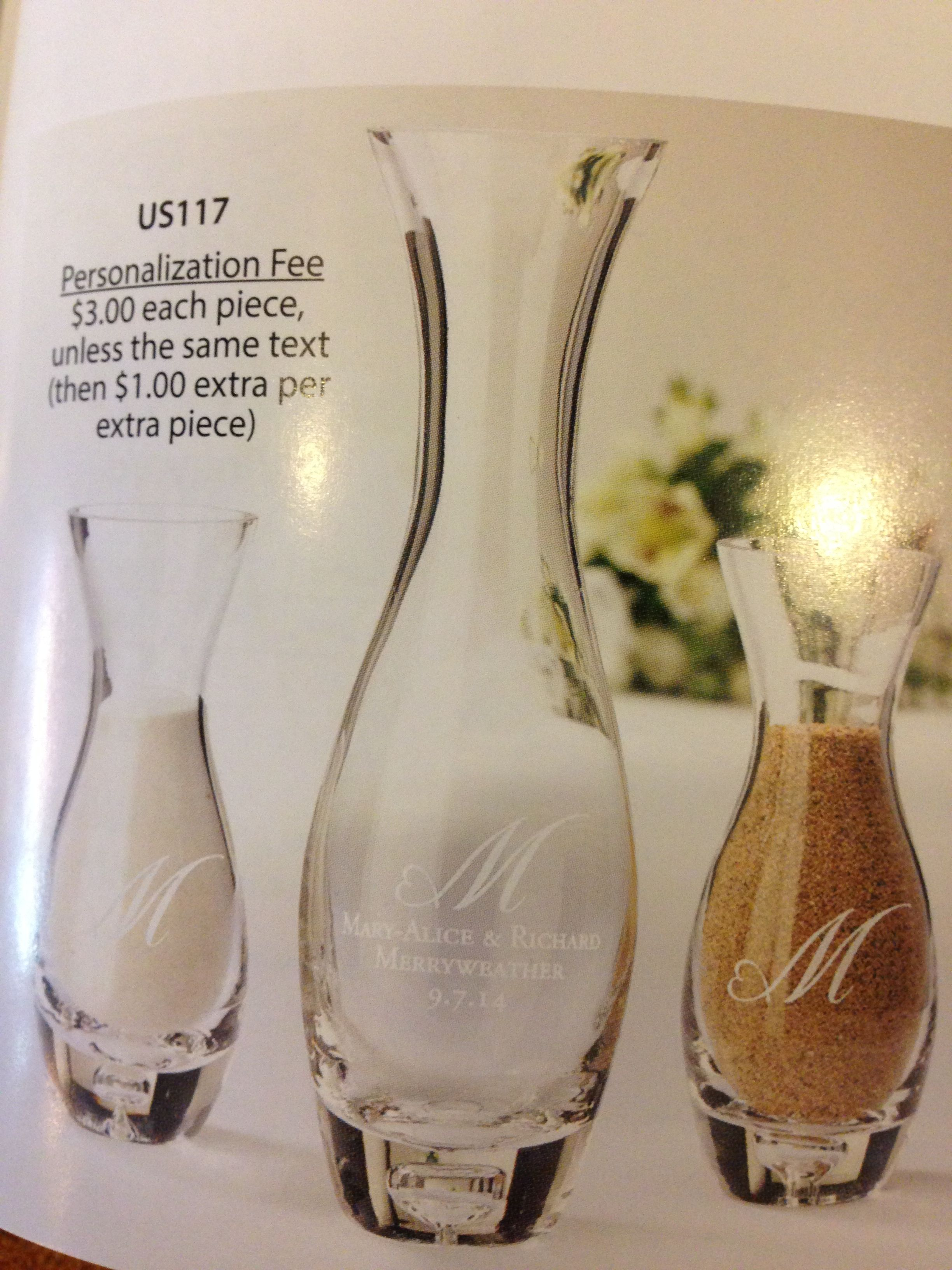 Beautiful unity sand vases that can be personalized wedding beautiful unity sand vases that can be personalized reviewsmspy