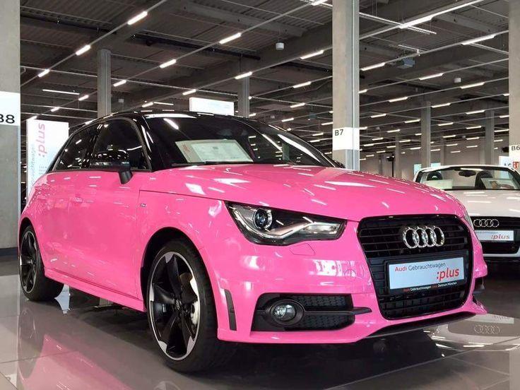 Pink Audi A1 Cars Audi A1 Audi A1 Sportback Cars