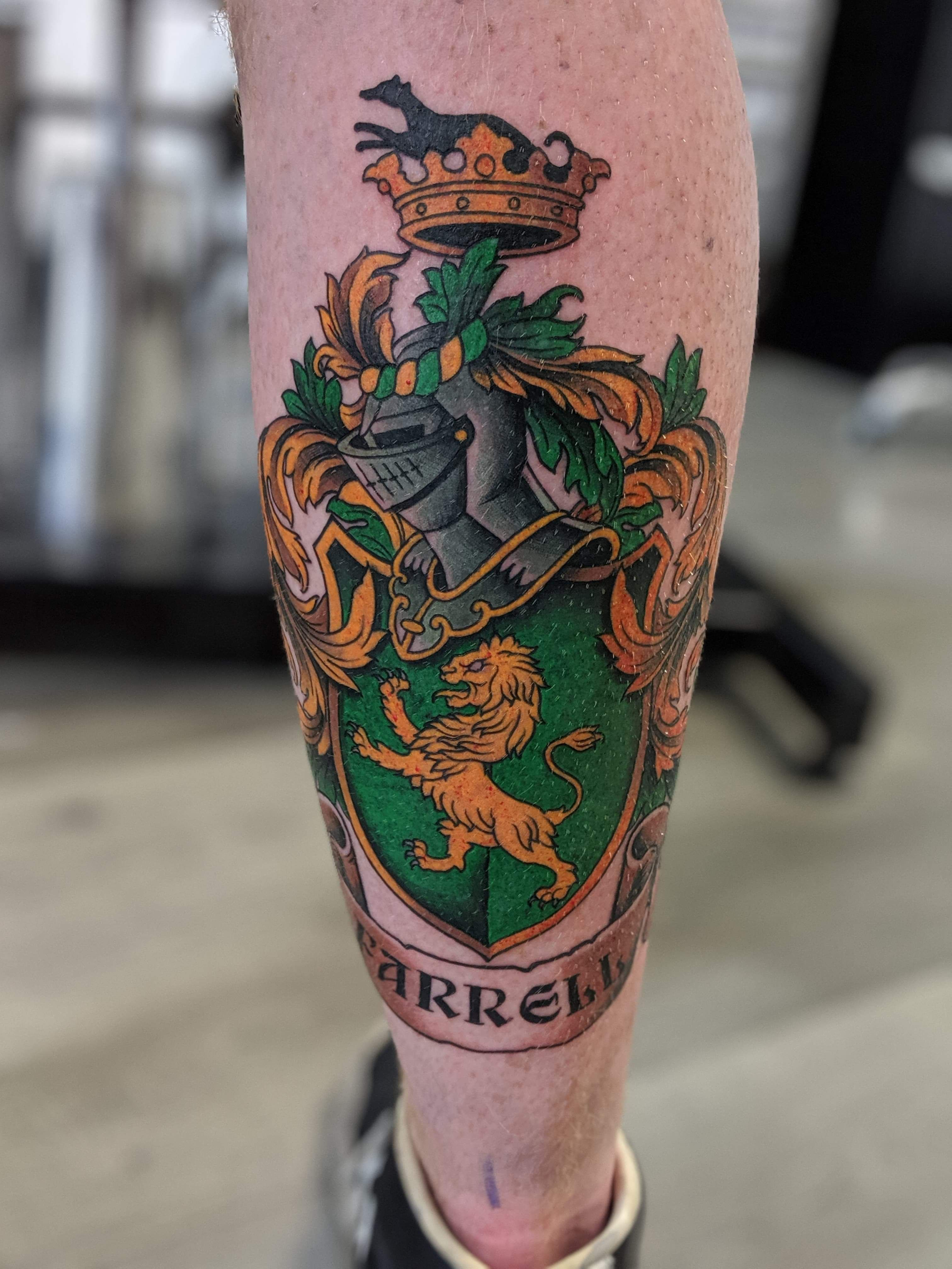 Pin by Zach G. on Tattoo idea(s) in 2020 Family crest
