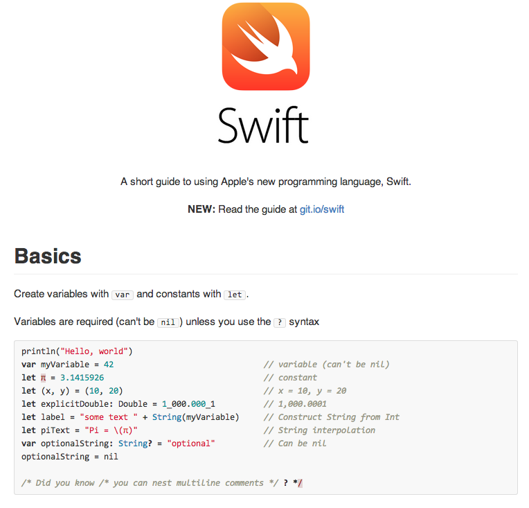 Basic Swift Programming Swift Programming Language Computer Programming Programing Software