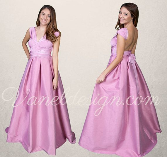 badd41d6917 Prom Dress Convertible Dress Custom Made in 50 by VanelDesign ...