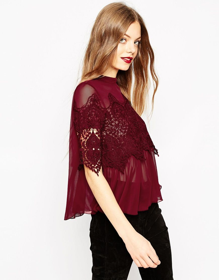 love this top -- so perfect for the holidays!