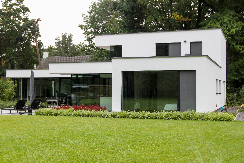 Betaalbare Prefab Woning : Moderne prefab woning te grobbendonk gebouwd door concrete house