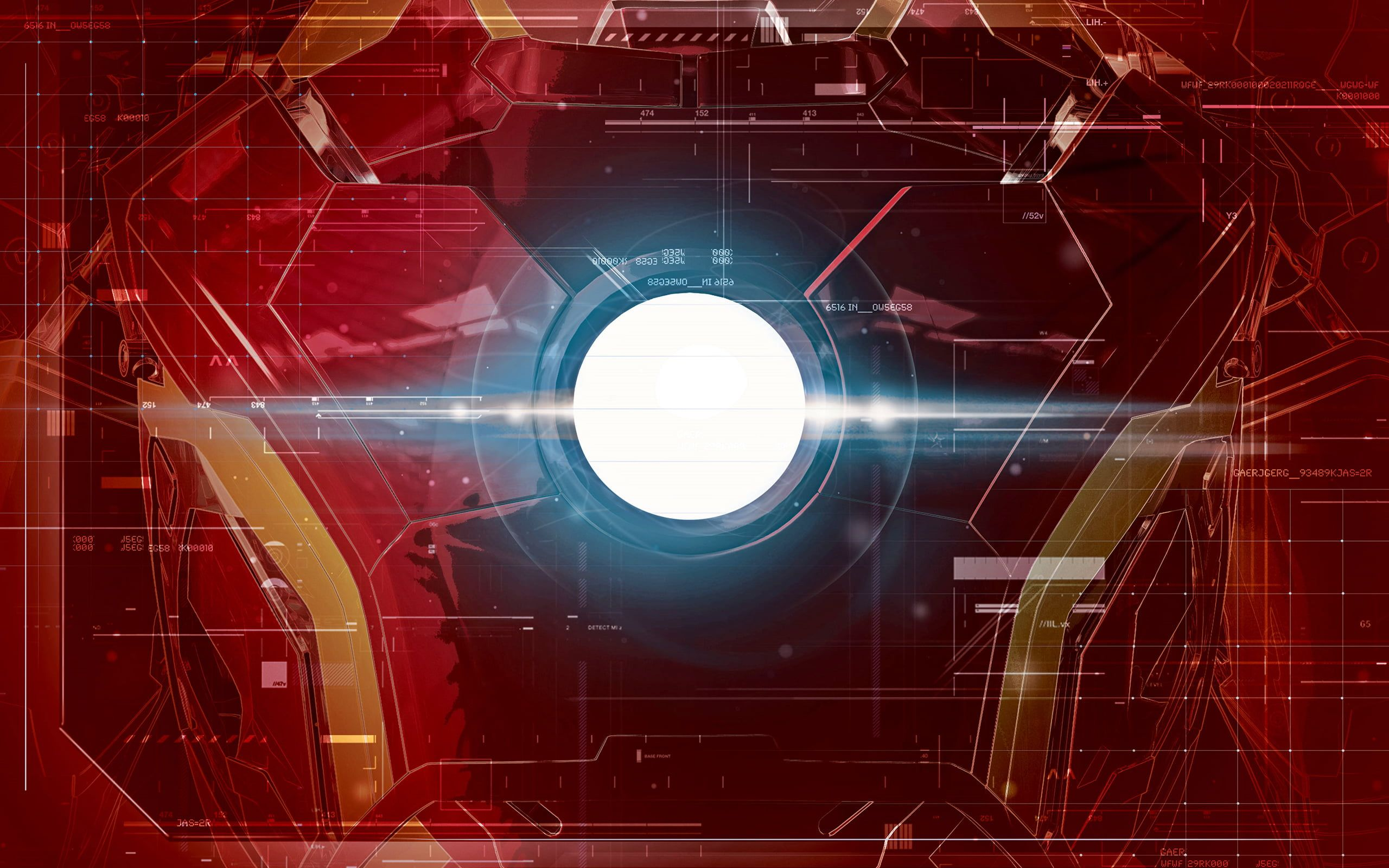 Marvel Iron Man Chest Plate Illustration Red And Blue Iron Man Graphics Art The Avengers Avengers A Iron Man Wallpaper Superhero Wallpaper Plate Illustration