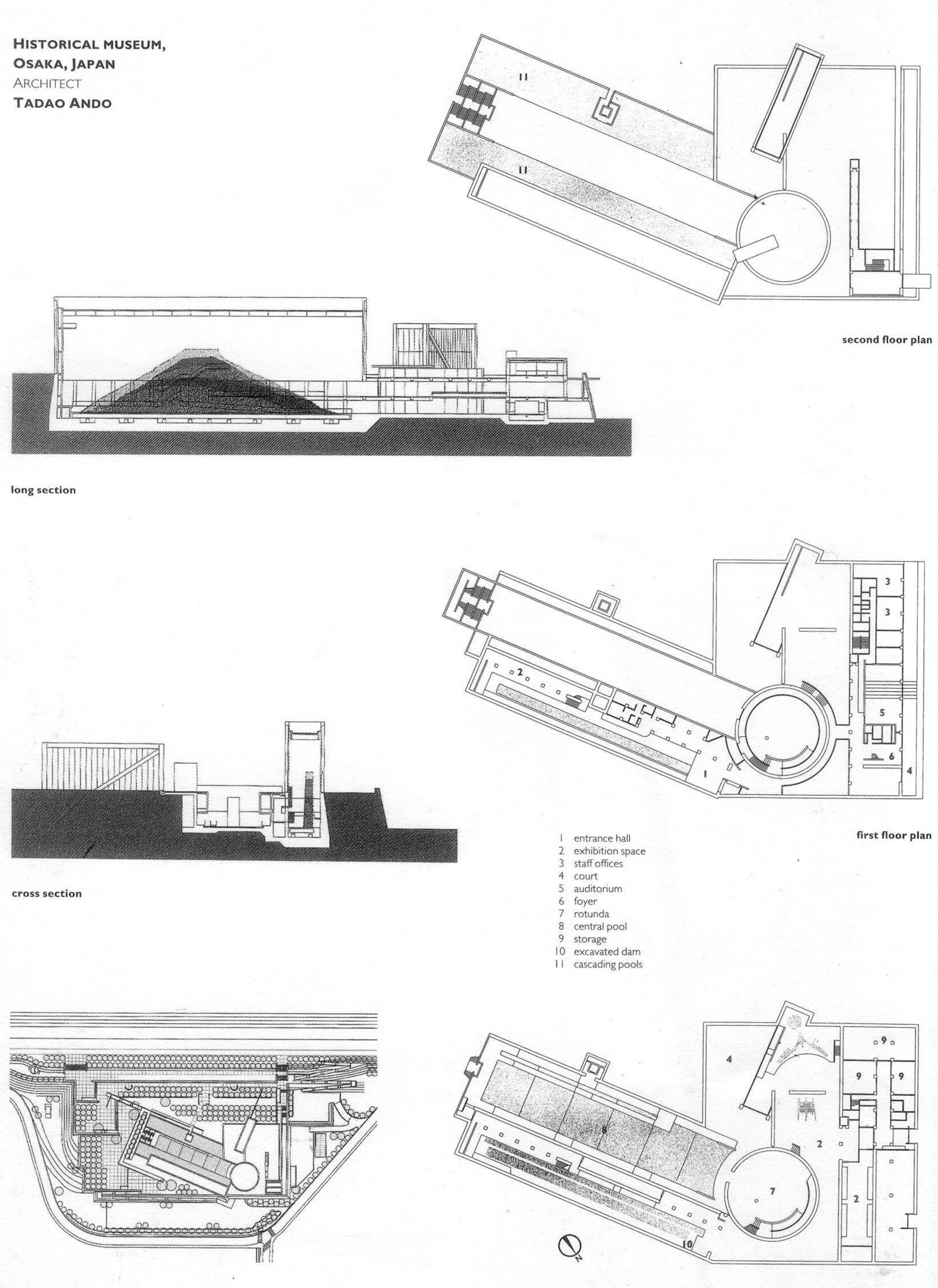 Ando tadao rokko house pinterest - 20060428_0507archrevw_plans Ando Architecture Tadao Pinned By Www Modlar Com