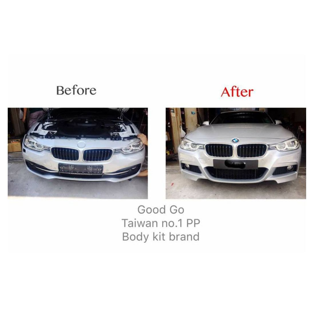Bmw F30 316i 318i 320i 330e Convert M Sport Performance Front Bumper Bodykit Original Quality Pp Taiwan No 1 Pp Bumper Brand Good Gohigh Rated Pp Thicker