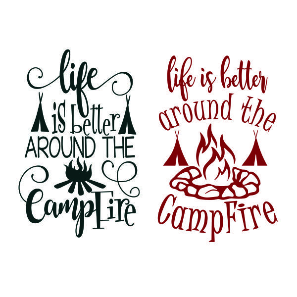 Life Is Better Cuttable Design Cut File Vector Clipart