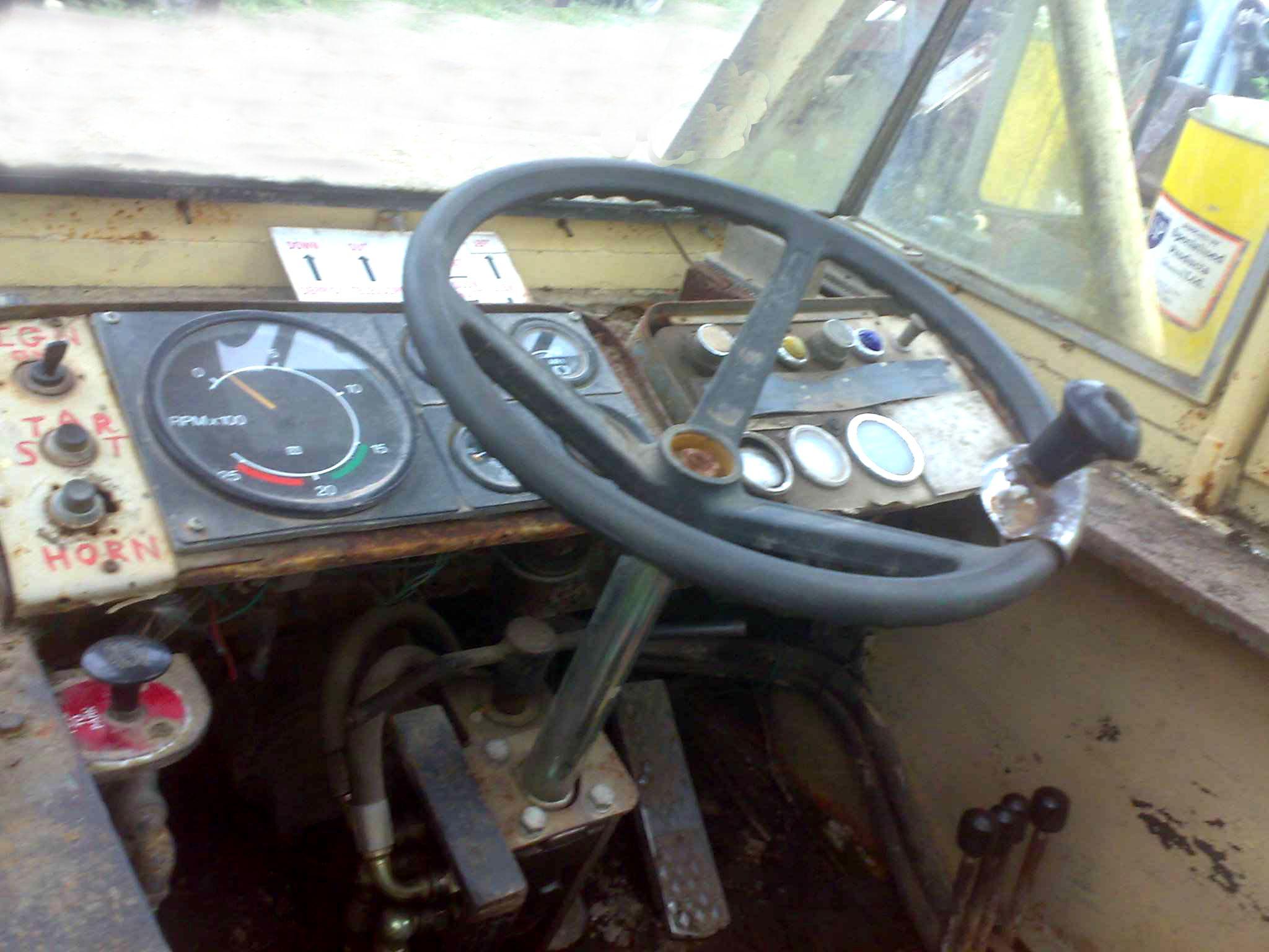 Photo album photo steering wheel