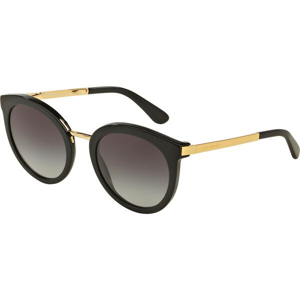 Dolce & Gabbana DG4268 501 / 8G, Plastic, Black, Sunglasses …