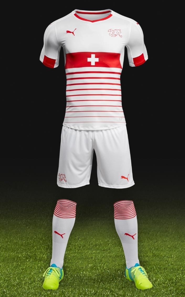 ded8040fed5 The Switzerland Euro 2016 away kit boasts a modern design