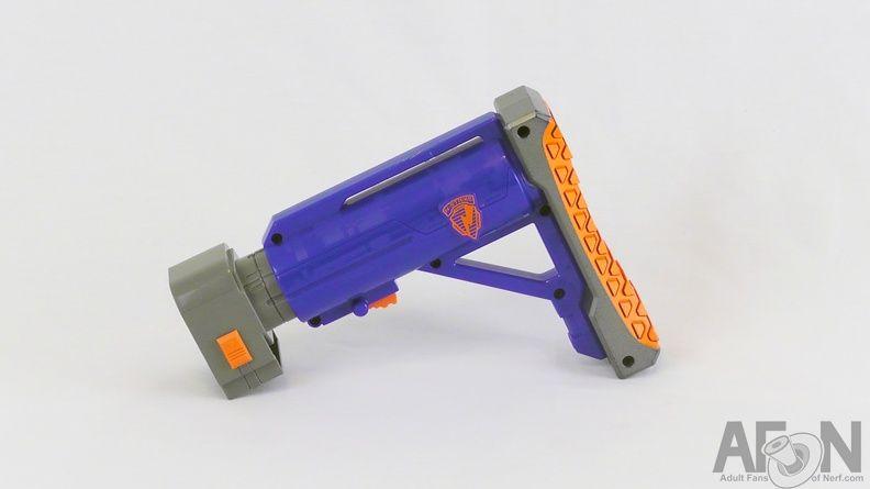 Raider shoulder stock. NerfRaiders