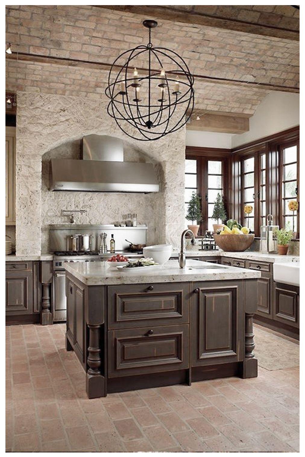 20 Fabulous Mediterranean Kitchen Design Elements Ideas In 2020 Tuscan Kitchen Design Mediterranean Kitchen Design Mediterranean Kitchen
