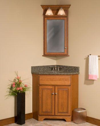 Woodpro Cabinetry Corner Sink Bathroom Corner Bathroom Vanity Diy Vanity Mirror