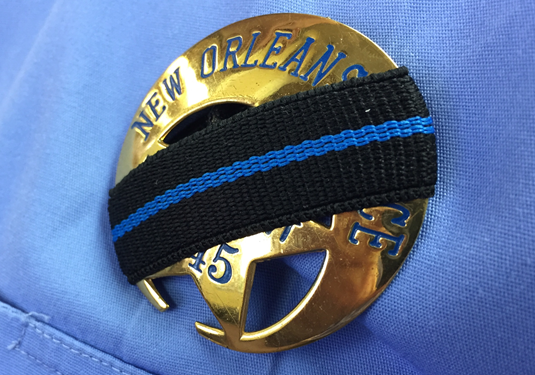 NOPD officers to wear mourning badge bands in honor of National Police Week | New Orleans - WDSU Home