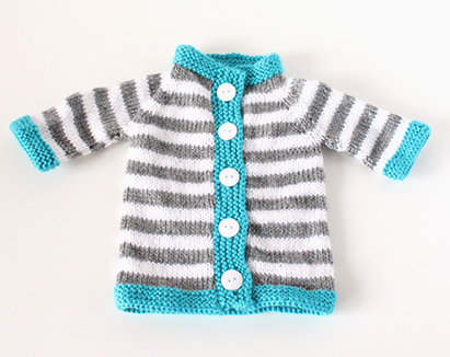 Stripey Baby Sweater Pattern   Baby sweater patterns, Baby jumpers ...