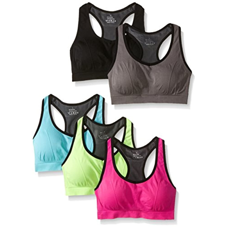MIRITY Women Racerback Sports Bras High Impact Workout