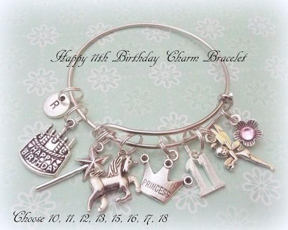 Girl bracelet personalized great gift idea
