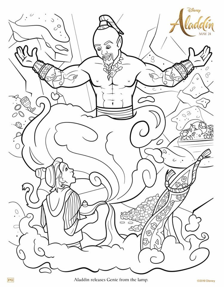 Free Aladdin Coloring Pages For Kids In 2020 Disney Coloring Sheets Disney Coloring Pages Mermaid Coloring Pages