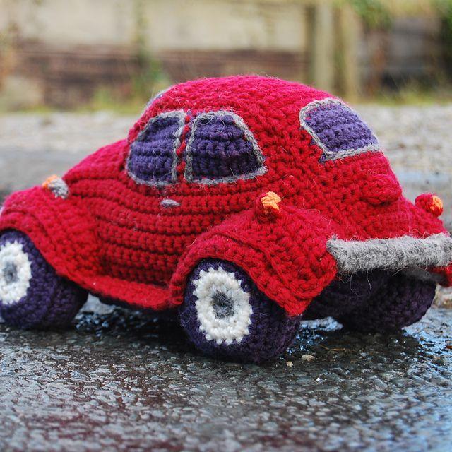 Hug A Bug Cuddly Crocheted Car Pattern By Tracy Harrison