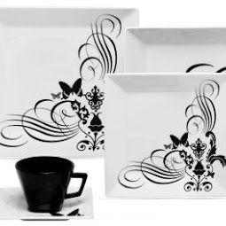 Shopping On Line Paula Freitascom Aparelho De Jantar Em Porcelana