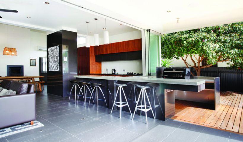Indoor Outdoor Kitchen Indoor Outdoor Kitchen Kitchen Interior Interior Design Awards