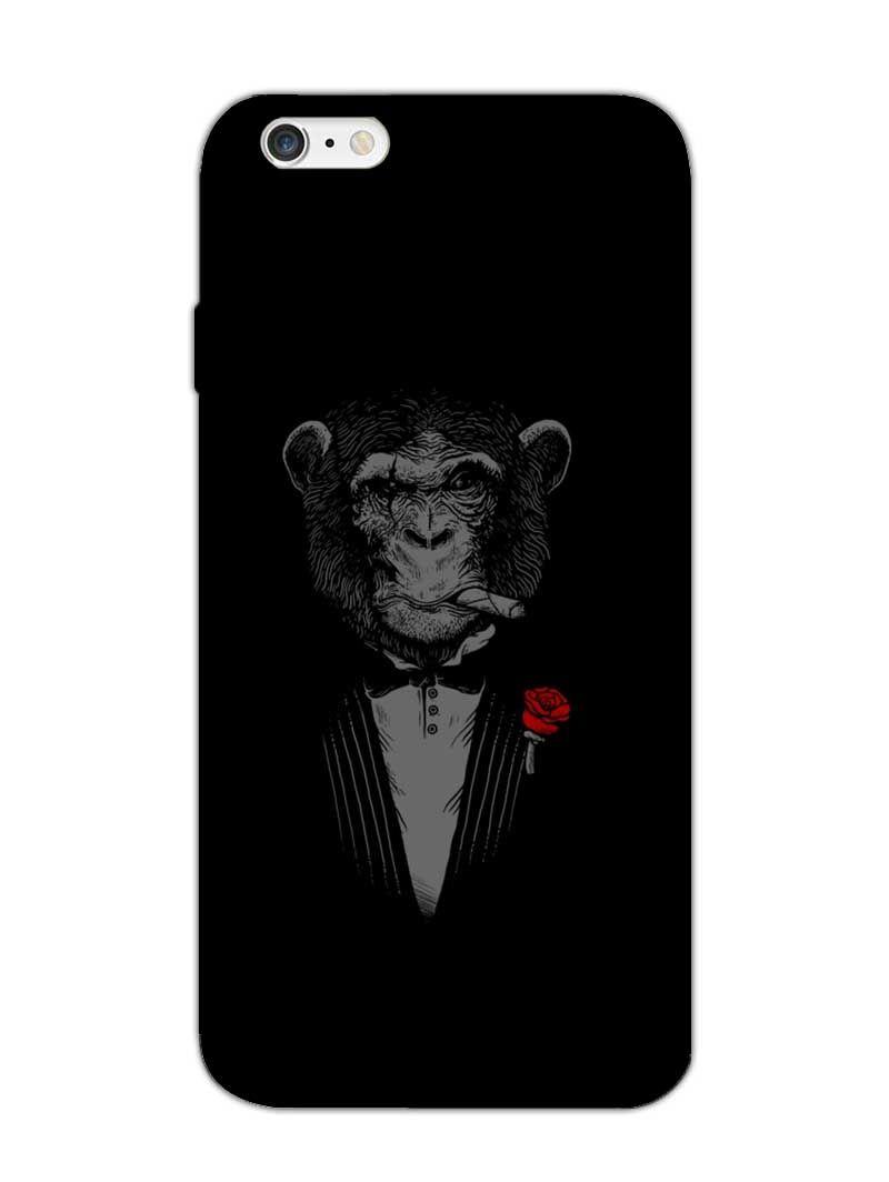 Smoking Monkey Chimpin Ain t Easy iphone case