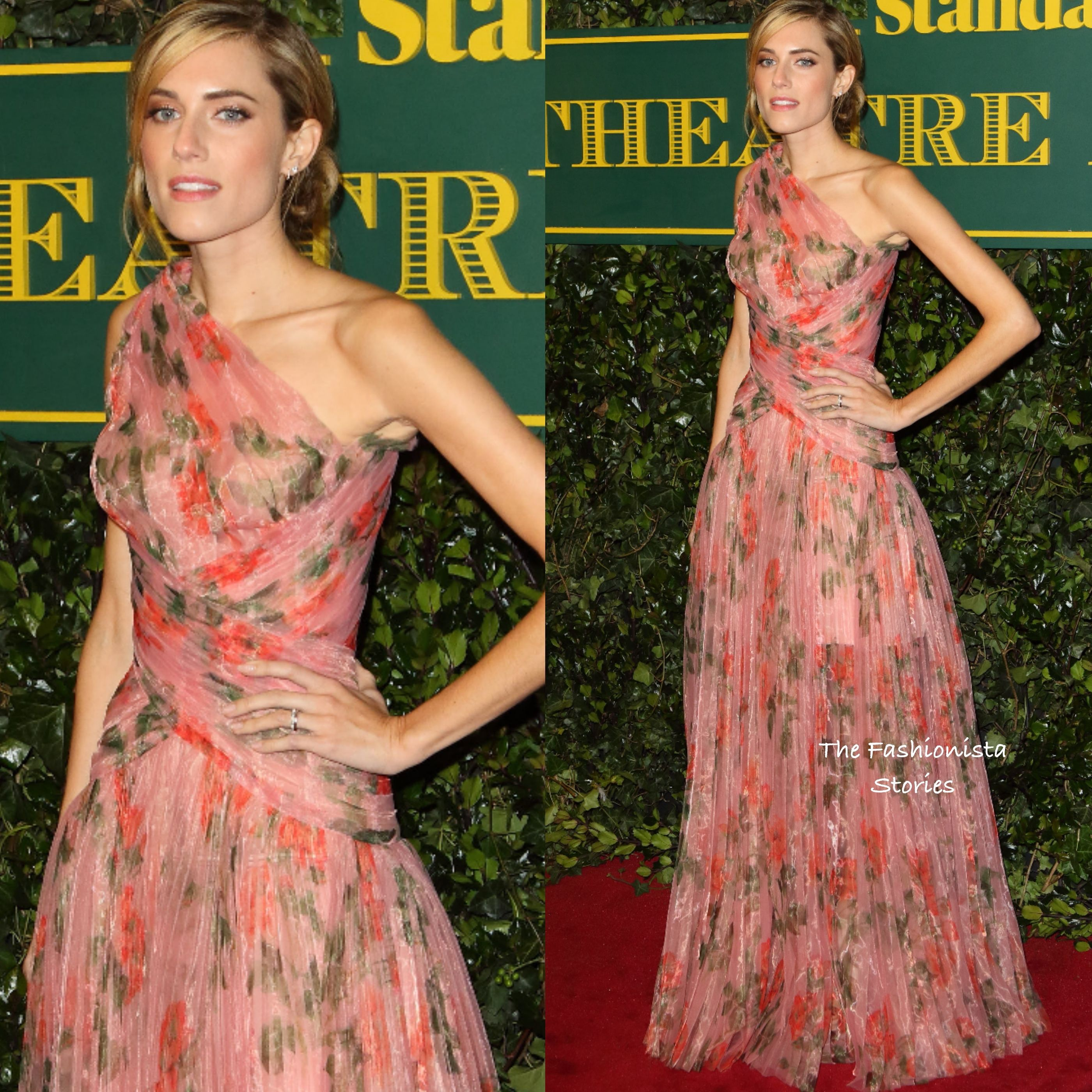 Evening standard theatre awards 2018 dresses in style