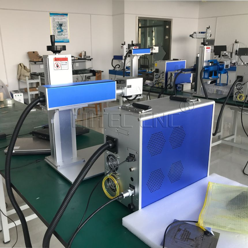 Fiber laser marking machines are engineered for high speed