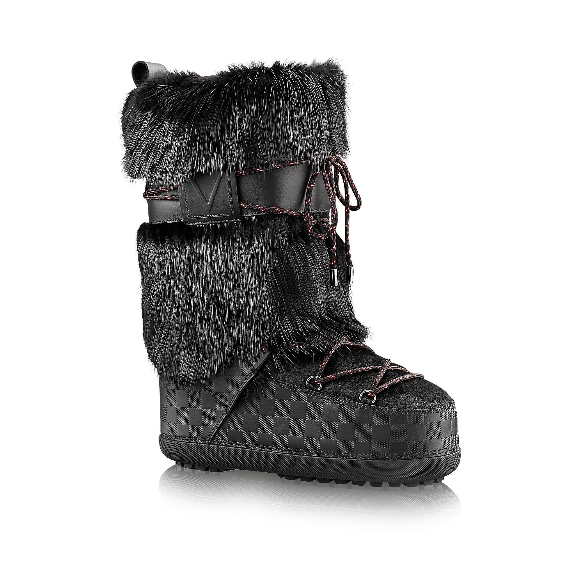 b01d65446633 Discover Louis Vuitton Snowstorm Snow Boot via Louis Vuitton