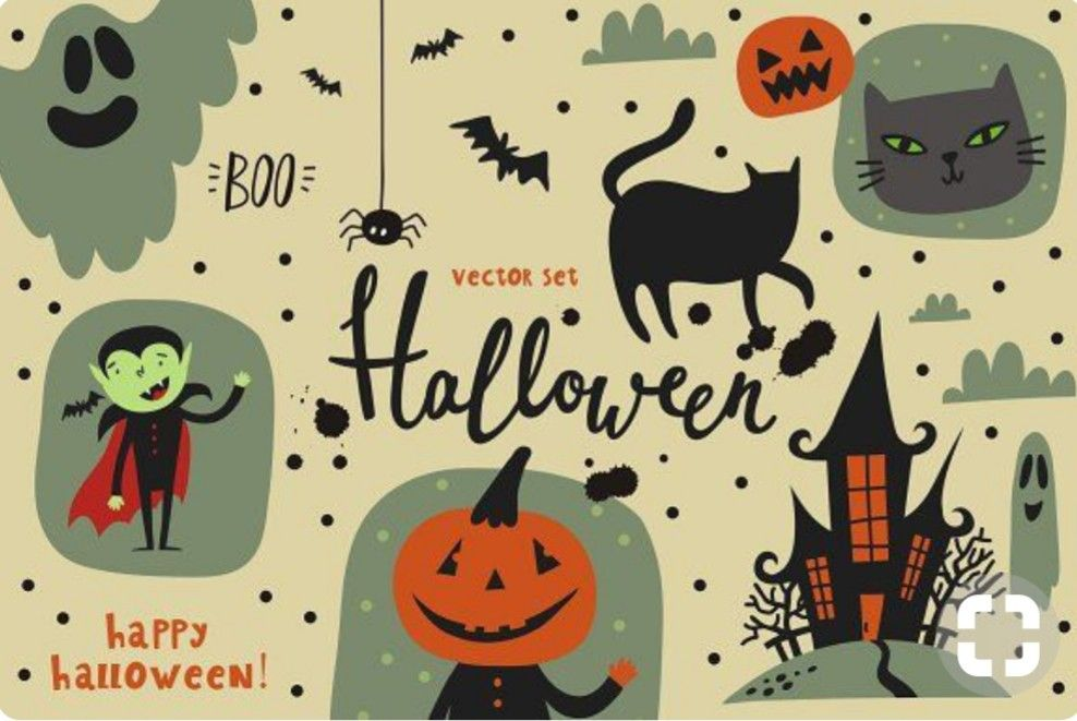 Pin By Heidi H On Halloween Thanksgiving Fall Halloween Wallpaper Halloween Vector Spirit Halloween