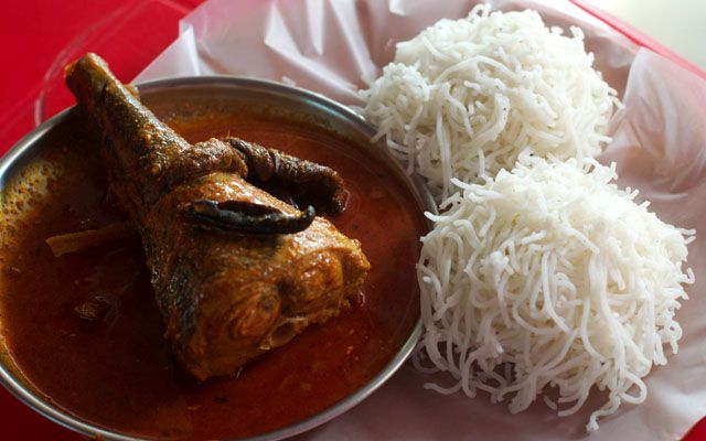 Surmai Fish Curry And Idiams At Kerala Fast Food Aundh Road Pune