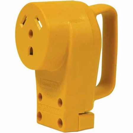 Camco Heavy Duty Rv 30 Amp Female Replacement Plug Walmart Com Camco Plugs Receptacles