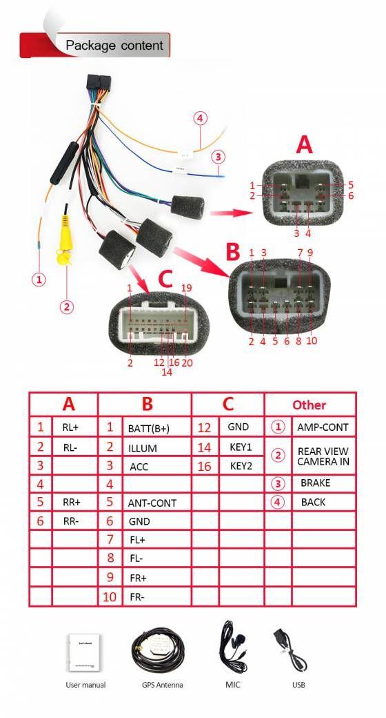 10 Multimedia Radio Wiring Diagram In 2021 Radio Multimedia Circuitry