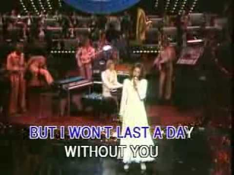 The Carpenters  I won't last a day without you