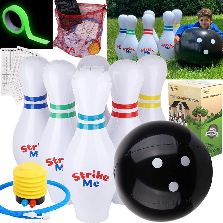 Giants Inflatable Kids Bowling Set In 2020 Bowling Games For Kids Kids Bowling Bowling Games