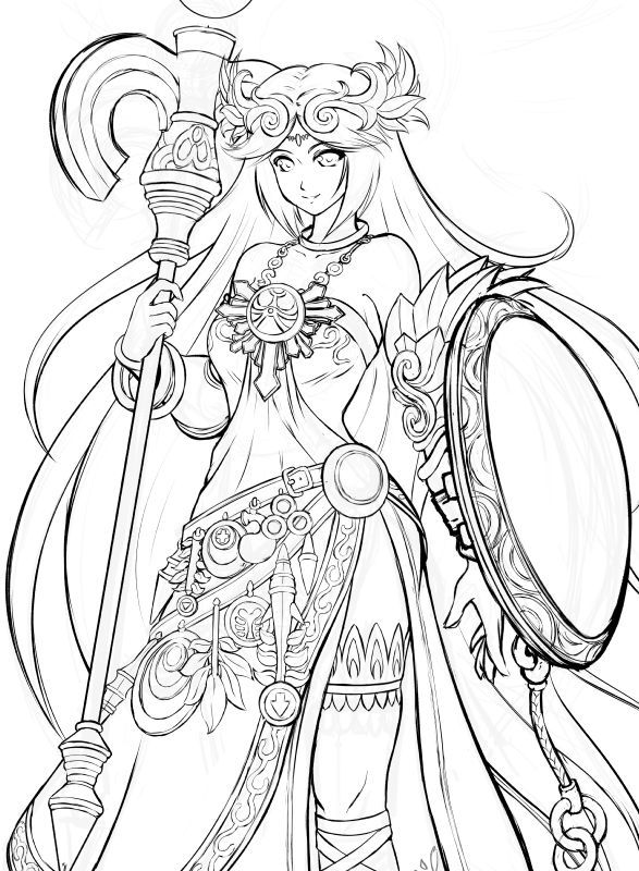 icarus coloring pages - photo#11