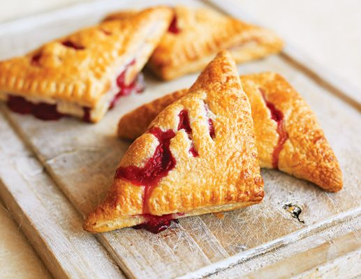 Raspberry Turnovers (Photo credit: Will Heap) #recipe www.thebump.com