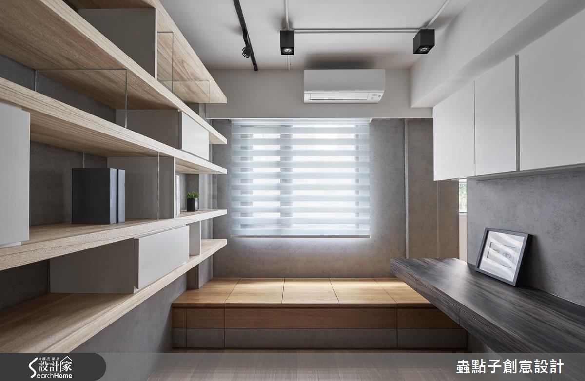 邁向明亮好感 插畫家的30 坪簡約風夢想部屋 Home Study Rooms Home
