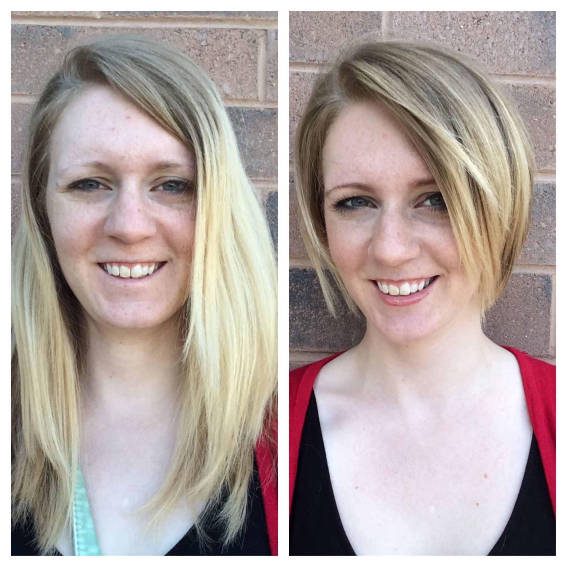 Long Hair To Short Hair Before And After It Can Really Change The