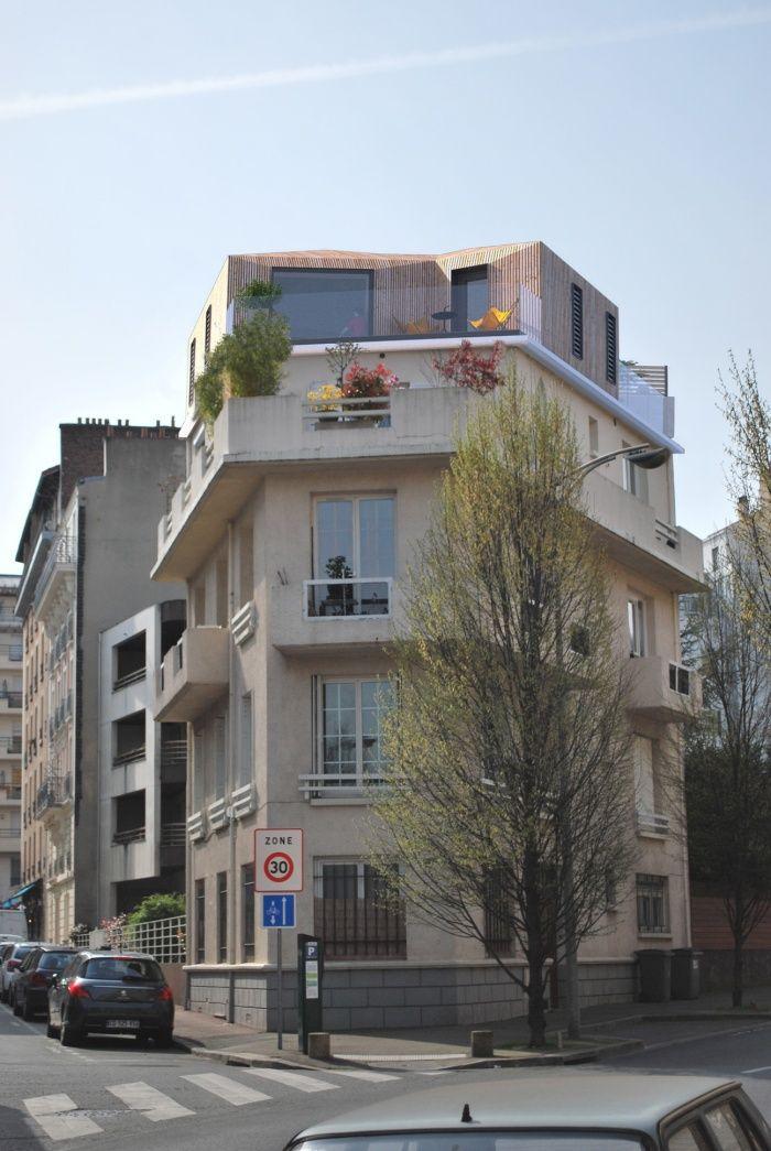 surelevation architecte Diploma Pinterest Roof extension