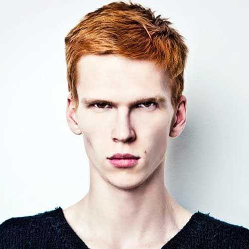 Ginger Mens Thick Hairstyles Hair For E Medium Thin Hair