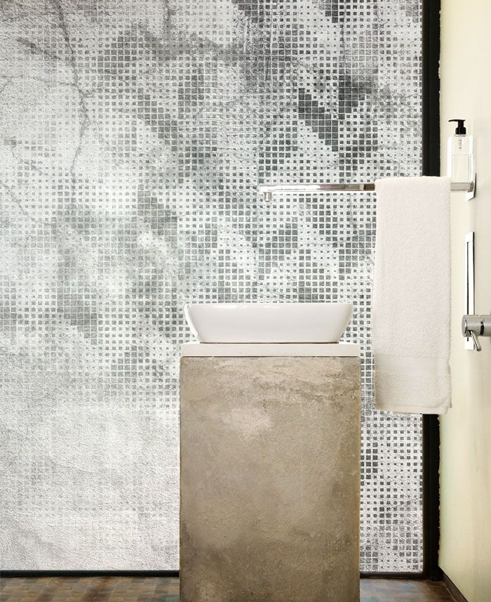 Wall Covering Suitable To Bathrooms Badezimmer Tapete Tapeten Wandverkleidung