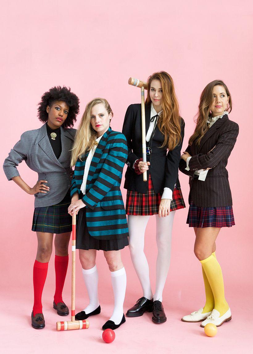 heathers group costume | halloween fun | pinterest | costumes