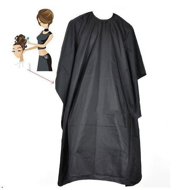 New Nützliche Salon Barber Kleid Cape Friseursalon Abdeckung Friseur Schwarze Haare Schneiden Wasserdichte Tuch Salon
