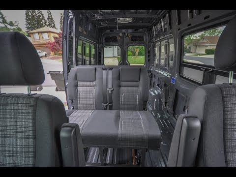 Rock N Roll Rib Seat Bed Install In A Mercedes Sprinter