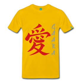 Gaara Love Kanji (Naruto Shippuuden)